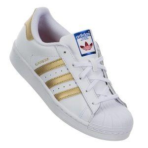 Adidas Superstar Preschool Sneakers, sz 8K